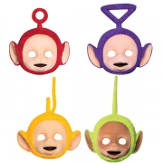 Teletubbies 4 Pack Mask Party Accessories