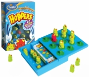 Hoppers 'The Peg-solitaire Jumping Game' Board Game Puzzle