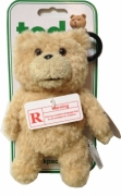 Talking Ted Bear with Sounds X Rated 6 inch Backpack Clip School Bag Rucksack