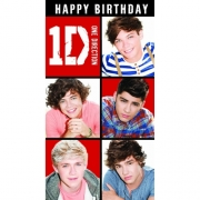 One Direction 'General' Birthday Card Greetings Cards
