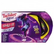Hasbro Gaming Twister Rave Black Skip It Toy