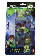 Ben 10 Alien Force '4 Piece' Study Kit Stationery Set