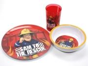 Fireman Sam 'Rescue' Dinner Set