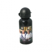 Jls 'Black and Gold' Aluminum Water Bottle