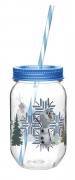 Disney Frozen 'Olaf' Can Jar Tritan Bottle
