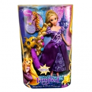 Disney Tangled Rapunzel 'Hairplay Decorate and Style' Doll Toy