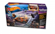 Hot Wheels Marvel Guardians of The Galaxy 'Rocket' S Talespin Takedown' Track Set Toy