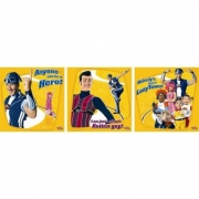 Lazy Town 3 Art Square Wall Decoration