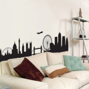 London Skyline Maxi Wall Stickers Sticker Decoration