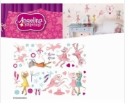 Angelina Ballerina Wall Sticker Stikaround