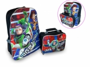 Disney Toy Story 'Toy In Action' Backpack with Lunch Bag School Rucksack