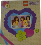Lego Friends A4 Ringbinder Folder Stationery