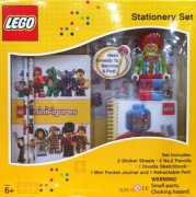 Lego 'Classic' 7 Piece Boxed Stationery Set