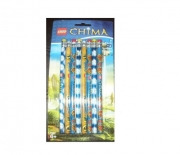 Lego Chima 8 Pk Pencil Set Stationery