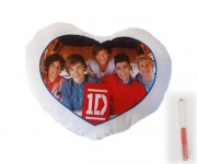 One Direction Small Autograph Pillow with Pen