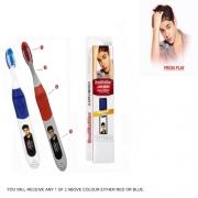 Brushbuddies Justin Bieber Singing 'Boyfriend' Red, Blue Assorted Toothbrush Dental Care