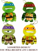 Teenage Mutant Ninja Turtles 'Leonardo, Donatello, Raphael and Michelangelo' Assorted Bag Buddies 5