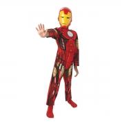 Iron Man Medium 5-6 Years Costume