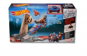 Hot Wheels Marvel 'Avengers Flight Strike' Track Set Toy