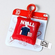 One Direction 'Niall' Plush Square Shaped Backpack Clip School Bag Rucksack