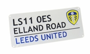 Leeds United Fc Football Street Sign Official Board