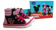 Disney Minnie Mouse Boots Baby Uk: 8 & Eur: 25 Shoes