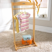 Izziwotnot Solo Natural Clothes Hanging Rail
