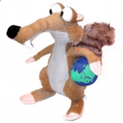 Ice Age 4 'Scrat The Squirrel with Ball' 11 inch' Plush Soft Toy
