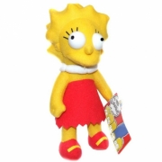 The Simpsons 'Lisa Simpson' 9 inch Plush Soft Toy