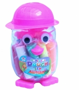 Kids Create Money Box Dough Set Bird Pink' Creativity