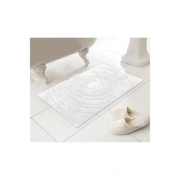 White Echo Mat Bath