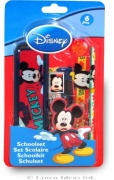 Disney Mickey Mouse 'Oh Boy' 6 Piece School Set Stationery