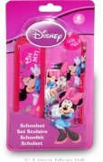 Disney Minnie Mouse 'Oh My' 6 Piece School Set Stationery