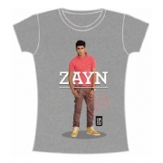 One Direction Zayn Standing Pose Slim Ladies M T Shirt