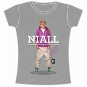 One Direction Niall Standing Pose Slim Ladies M T Shirt