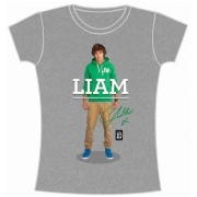 One Direction Liam Standing Pose Slim Ladies M T Shirt