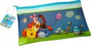 Disney Winnie The Pooh Pvc Flat Pencil Case Stationery