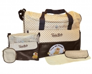 Non Branded Todd Baby Love Me Forever Brown Nappy Changing Bag Care