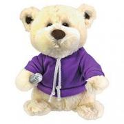 One Direction Singing Bear' 9 inch Purple Plush Soft Toy