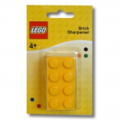 Lego Brick 'Shaped' Yellow Sharpener Stationery