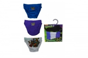 Teenage Mutant Ninja Turtles 3pk 6-8 Years Briefs