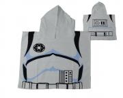 Disney Star Wars Storm Trooper Poncho Towel