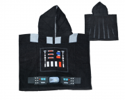 Disney Star Wars Darth Vader Poncho Towel