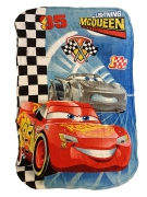 Disney Pixer Cars 3 Lightning Mcqueen Panel Fleece Blanket Throw