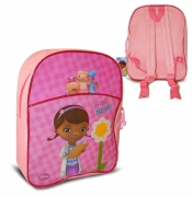 Disney Doc Mcstuffins Junior School Bag Rucksack Backpack