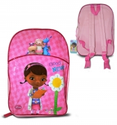 Disney Doc Mcstuffins Large Arch School Bag Rucksack Backpack