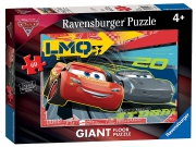 Disney Pixar Cars 3 Giant Floor 60 Piece Jigsaw Puzzle Game