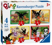 Bing Bunny 12 16 20 24 Piece 4 Jigsaw Puzzle Game