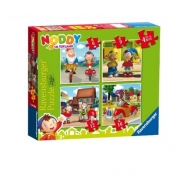 Noddy In Toyland 6 9 12 16 Piece Jigsaw Puzzle Game