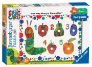 Hungry Caterpillar 'My First Floor' 16 Piece Jigsaw Puzzle Game